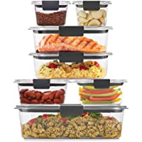 Deals on Rubbermaid Brilliance Storage 14-Piece Plastic Lids