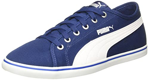 9e3d0cd9b0fa Puma Unisex Elsu V2 Cv Sneakers  Buy Online at Low Prices in India -  Amazon.in