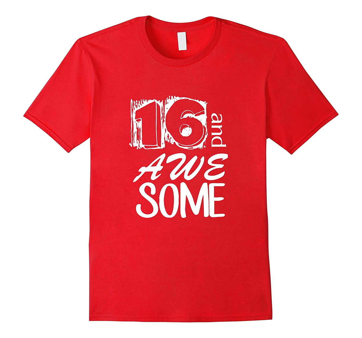 16th Birthday T Shirt Gift For Boys and Girls-TH