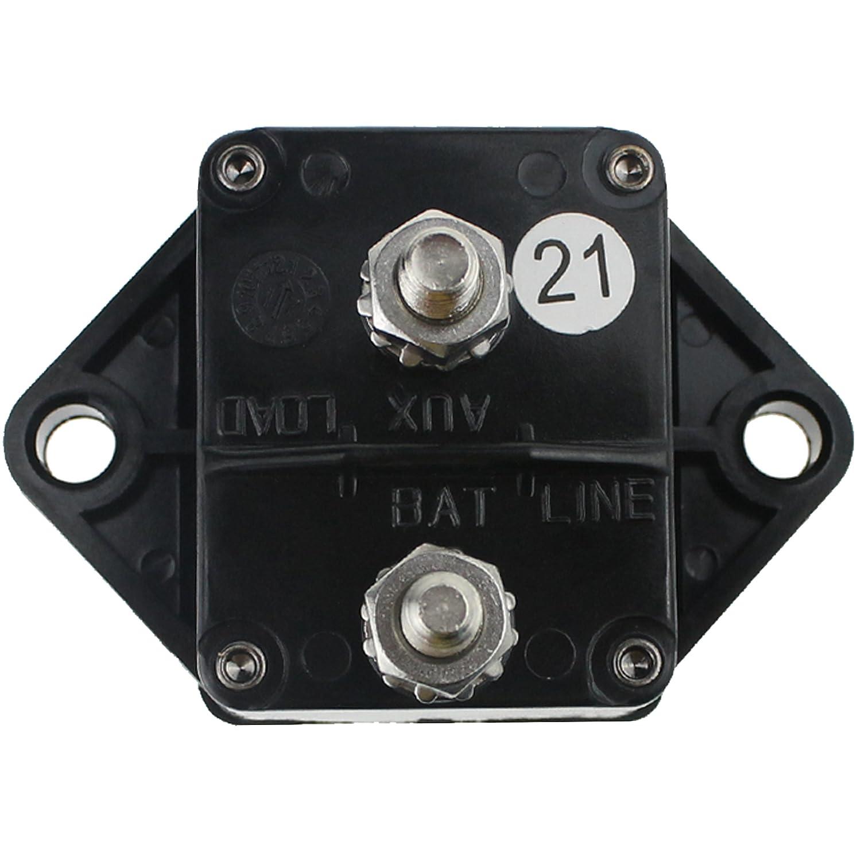 120 Amp Circuit Breaker Manual Power Fuse Reset Replacement Parts ...