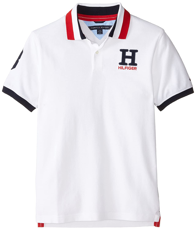 Tommy Hilfiger Boys Little Short Sleeve Solid Matt Polo Shirt