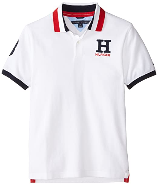 c261323110c62 Tommy Hilfiger Boys  Little Short Sleeve Solid Matt Polo Shirt ...