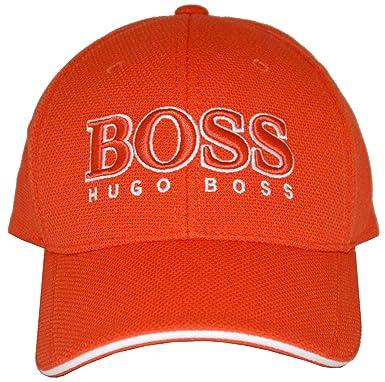 fa9d9814b68 Hugo Boss Cap US - 50251244 - Orange  Amazon.co.uk  Clothing