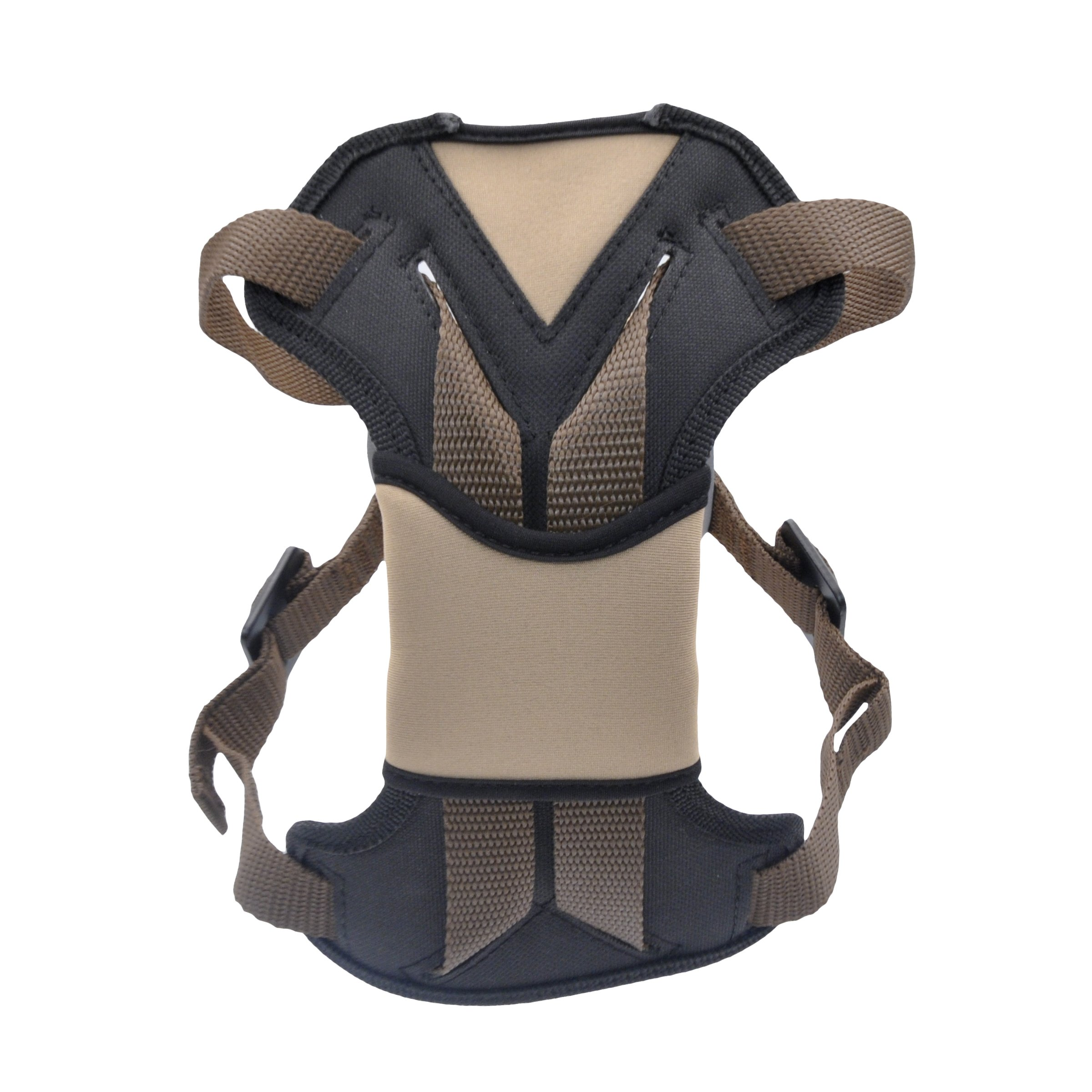 Bergan Safety Auto Harness with Tether, Medium, Brown by Bergan