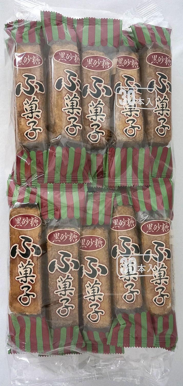 Japanese dried wheat gluten snack 'Brown Sugar Fugashi' Japanese Famous Junk Food Snack Dagashi