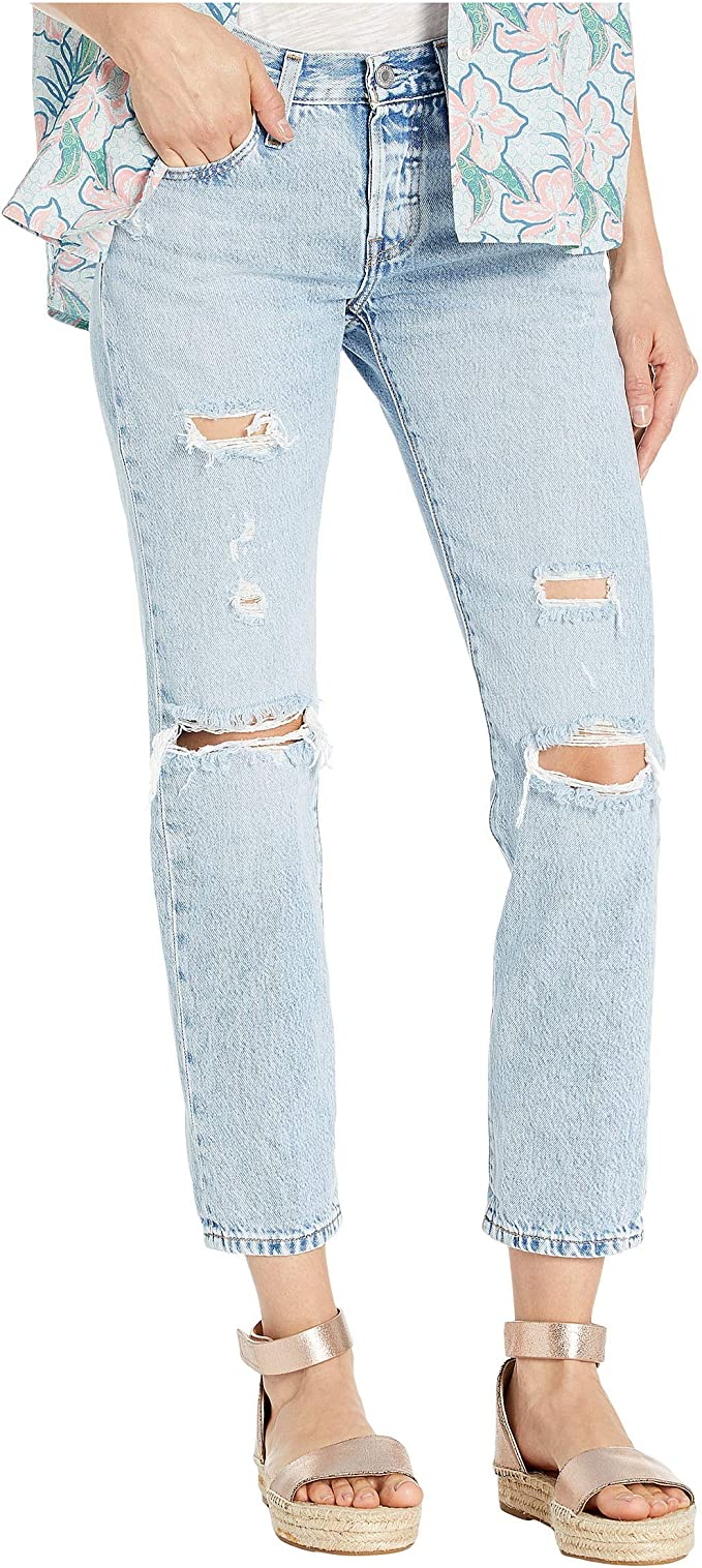where to buy best place cheap prices Levi's Women's 501 Tapered Jeans at Amazon Women's Jeans store