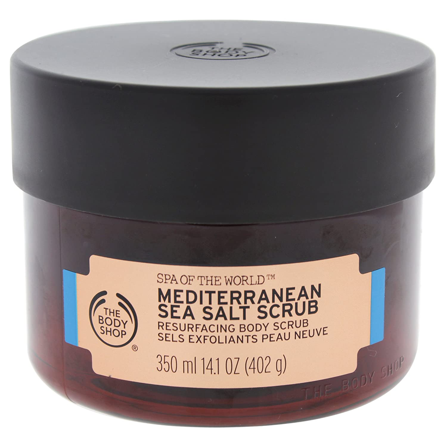 The Body Shop Spa Of The World Mediterranean Sea Salt Scrub 350ml 5028197555849
