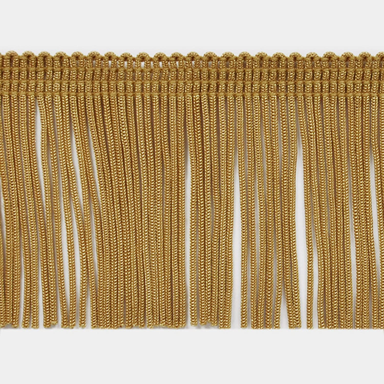 2 Chainette Fringe Trim Gold by the Yard