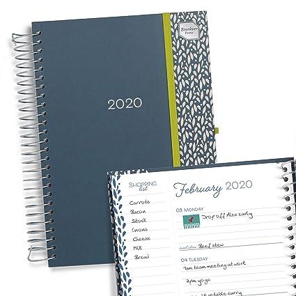 Boxclever Press Life Book Agenda 2020. Grande espacio cada día, ideal para familias o gente ocupada. Planificador semanal con listas de la compra. ...