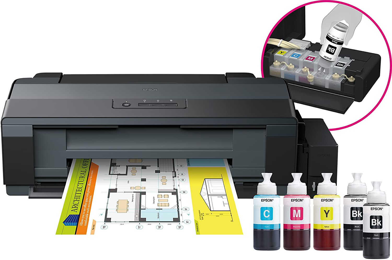 Amazon.com : Epson Ecotank Et-14000 A3 ink 30 ppm : Office ...