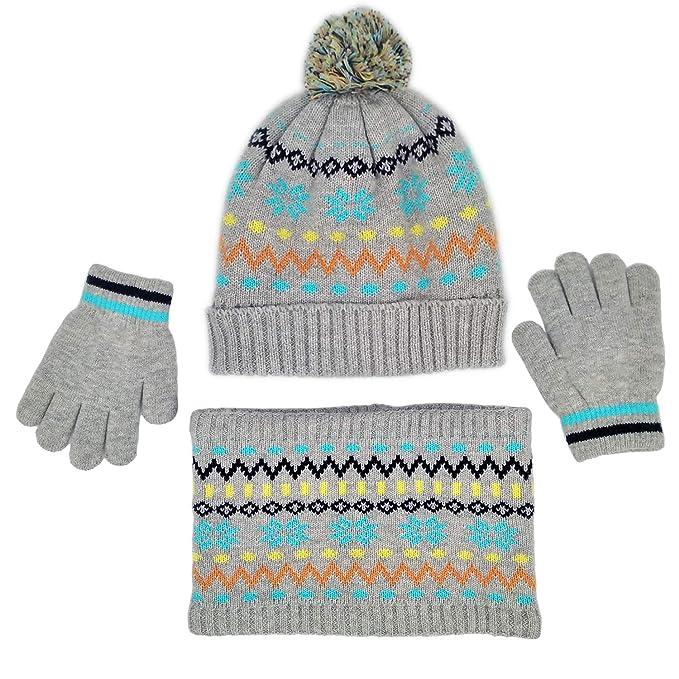 Amazon.com: Juego de 3 guantes de invierno para bebés y ...