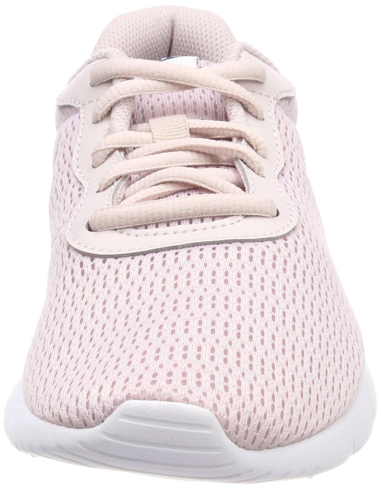 Nike Girl's Tanjun Shoe Barely Rose/Navy/White Size 4 M US by Nike (Image #4)