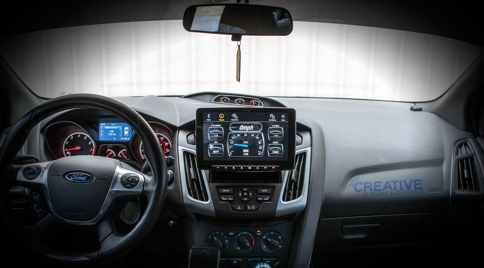Alpine iLX-F309 HALO9 9'' AM/FM/audio/video Receiver w/ 9-inch Touch Screen and Mech-less Design - Single-DIN Mounting by Alpine (Image #4)