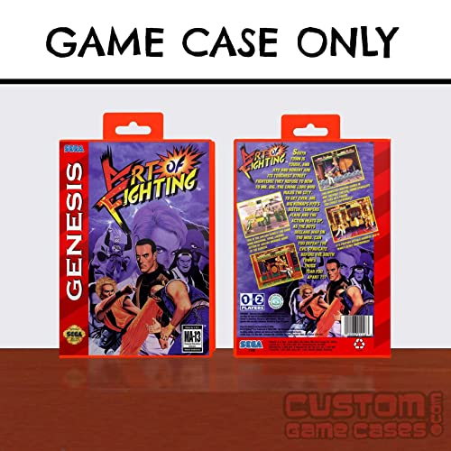 Amazon Com Sega Genesis Art Of Fighting Case Handmade