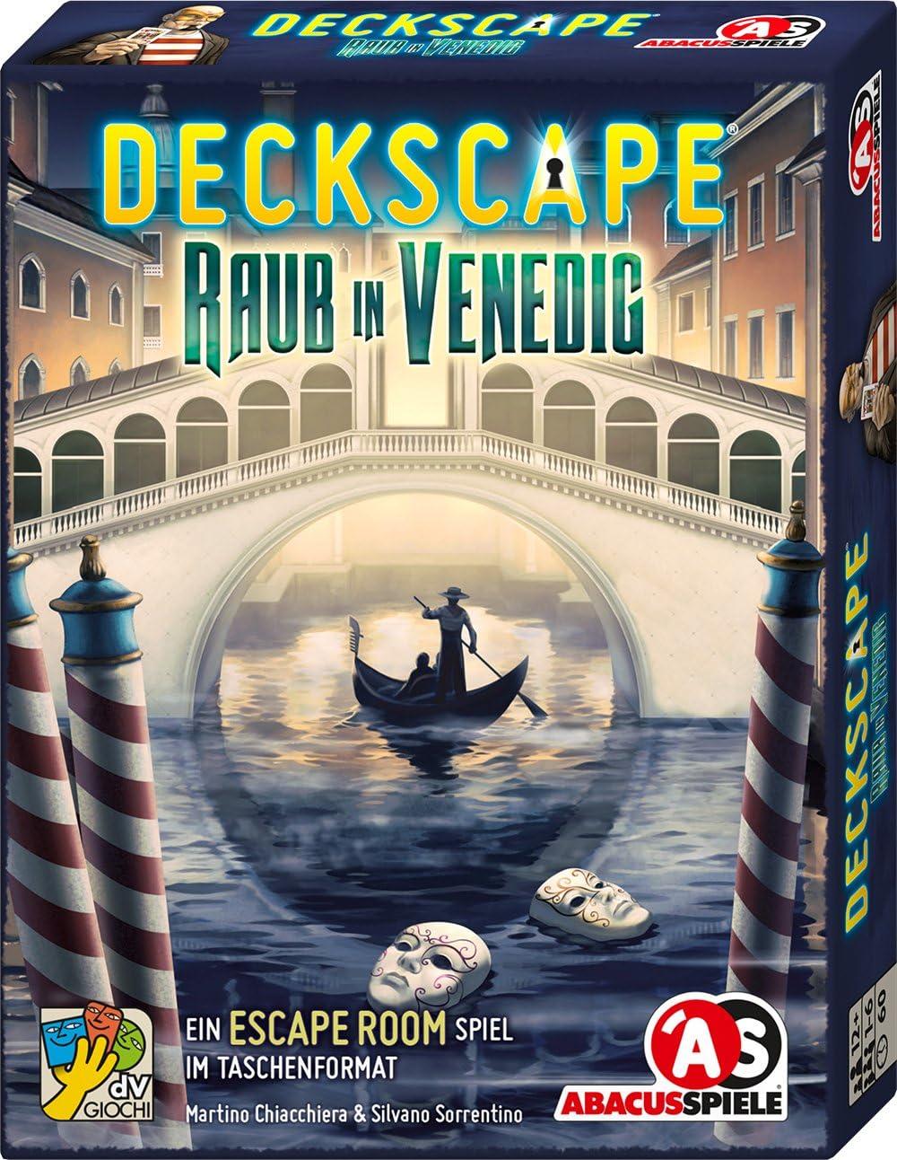ABACUSSPIELE cámping Deck Cape – Depredadores en Venecia No Escape ...