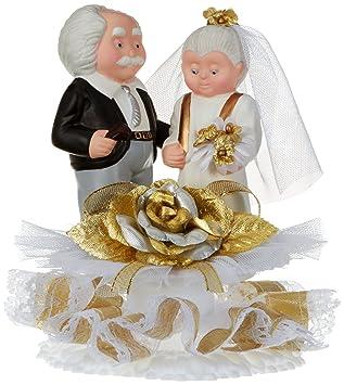 Günthart Porzellan Brautpaar Zur Goldenen Hochzeit Basis