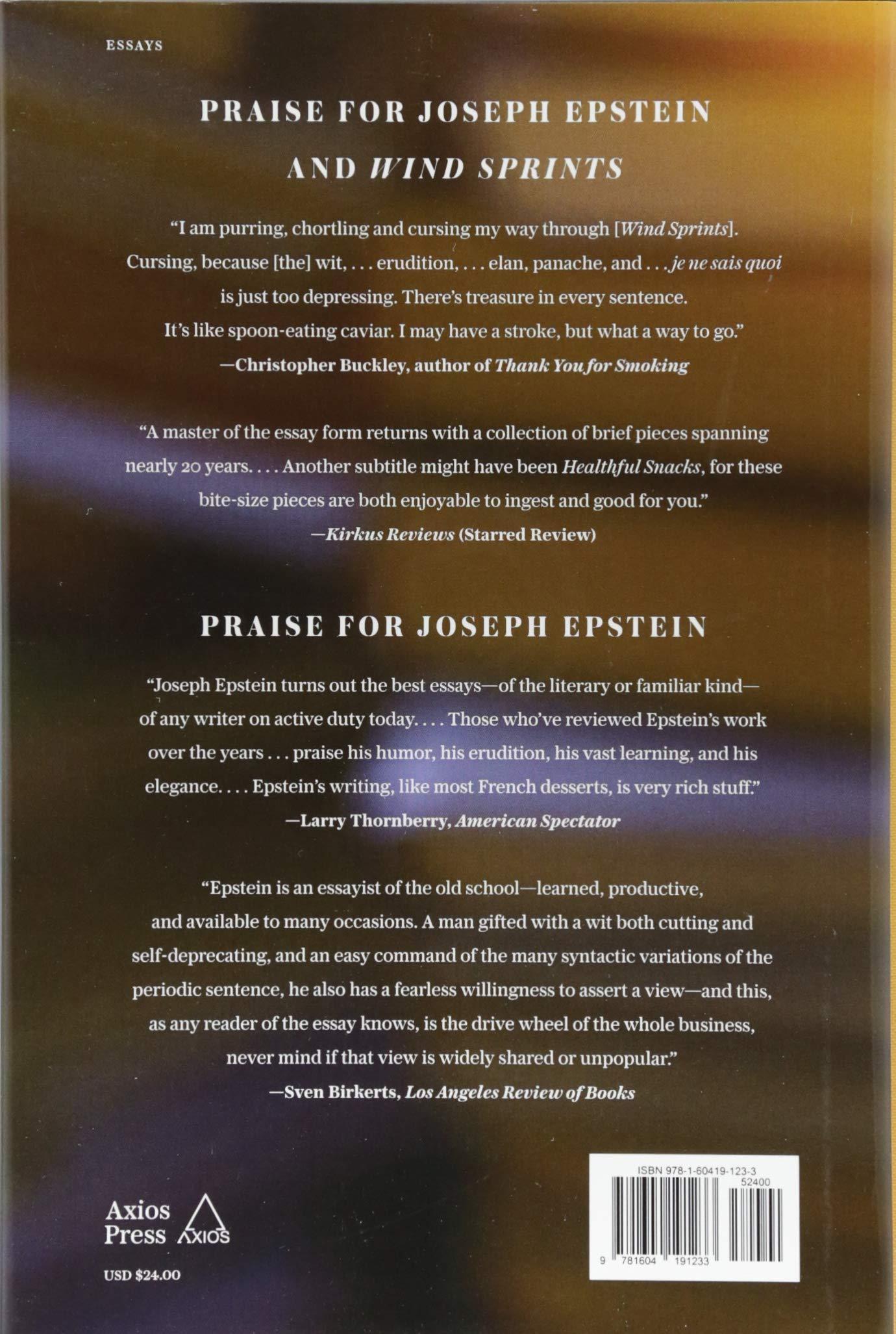 The Ideal of Culture: Essays: Joseph Epstein: 9781604191233: Amazon