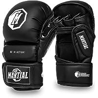 MARTIAL MMA sparringhandschoenen gemaakt van het beste materiaal voor een lange levensduur! Bokshandschoenen met extra…