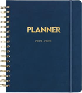 Amazon.com : Premium Planner 2019-2020 Academic Year Planner ...