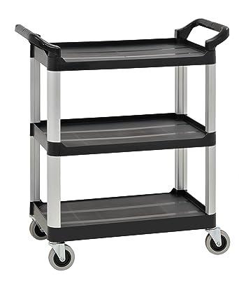 Sandusky Lee PUC1727333 Heavy Duty Plastic Utility Cart 17