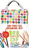 Kid Made Modern On-The-Go Drawing Kit Playset