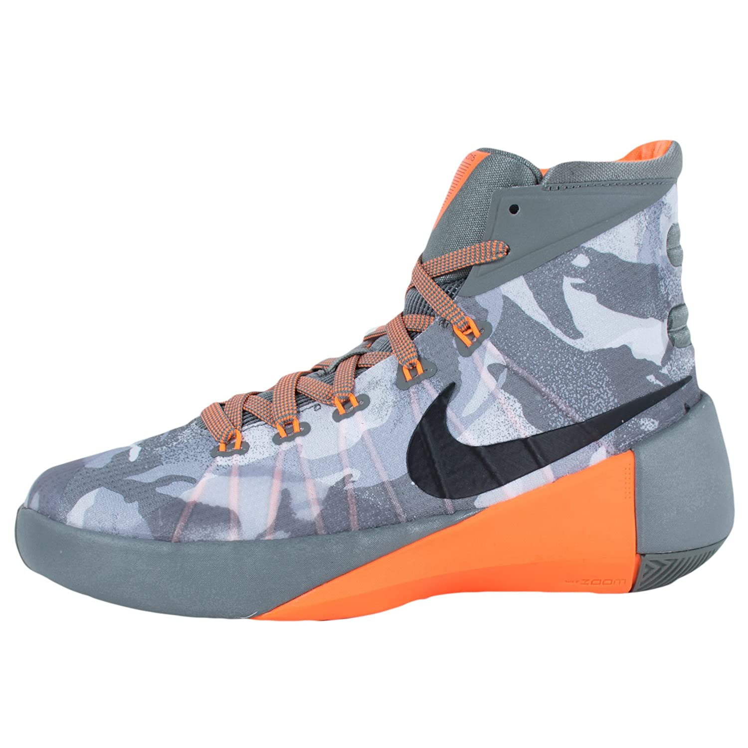 3f004152c7a3 Nike Boy s Hyperdunk 2015 (GS) Basketball Shoe Tumbled Grey Silver Grey Black  Size 6. 5 M US  Buy Online at Low Prices in India - Amazon.in