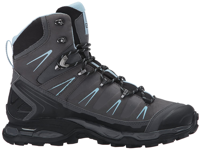 Salomon Damen X Ultra Trek GTX W Trekking-& Wanderstiefel, Grau (Dark Cloud/Black/Cristal 000), 38 EU