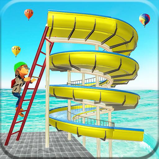 Amusement Theme Park Water Slide Fun ()