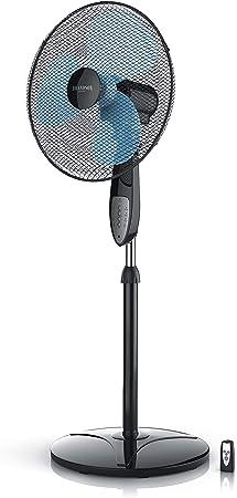 Brandson - 45cm Ventilador de pie con Control Remoto - Oscilación ...