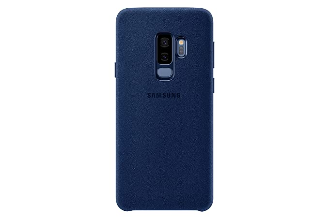 half off 17739 88bd0 Samsung Galaxy S9+ Alcantara Case, Blue