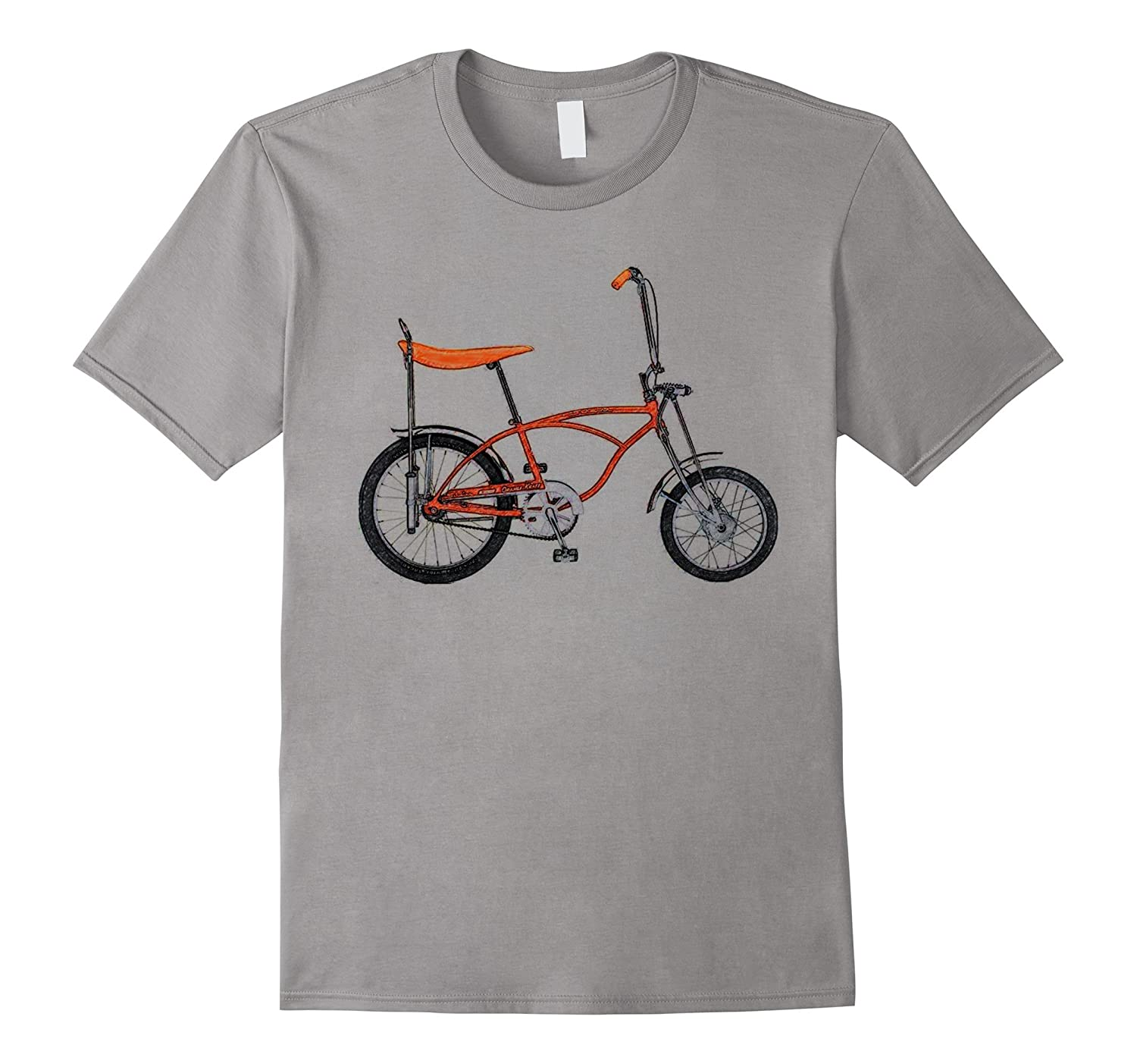 1970s Vintage Retro Banana Seat Bicycle Sketch Tee-T-Shirt