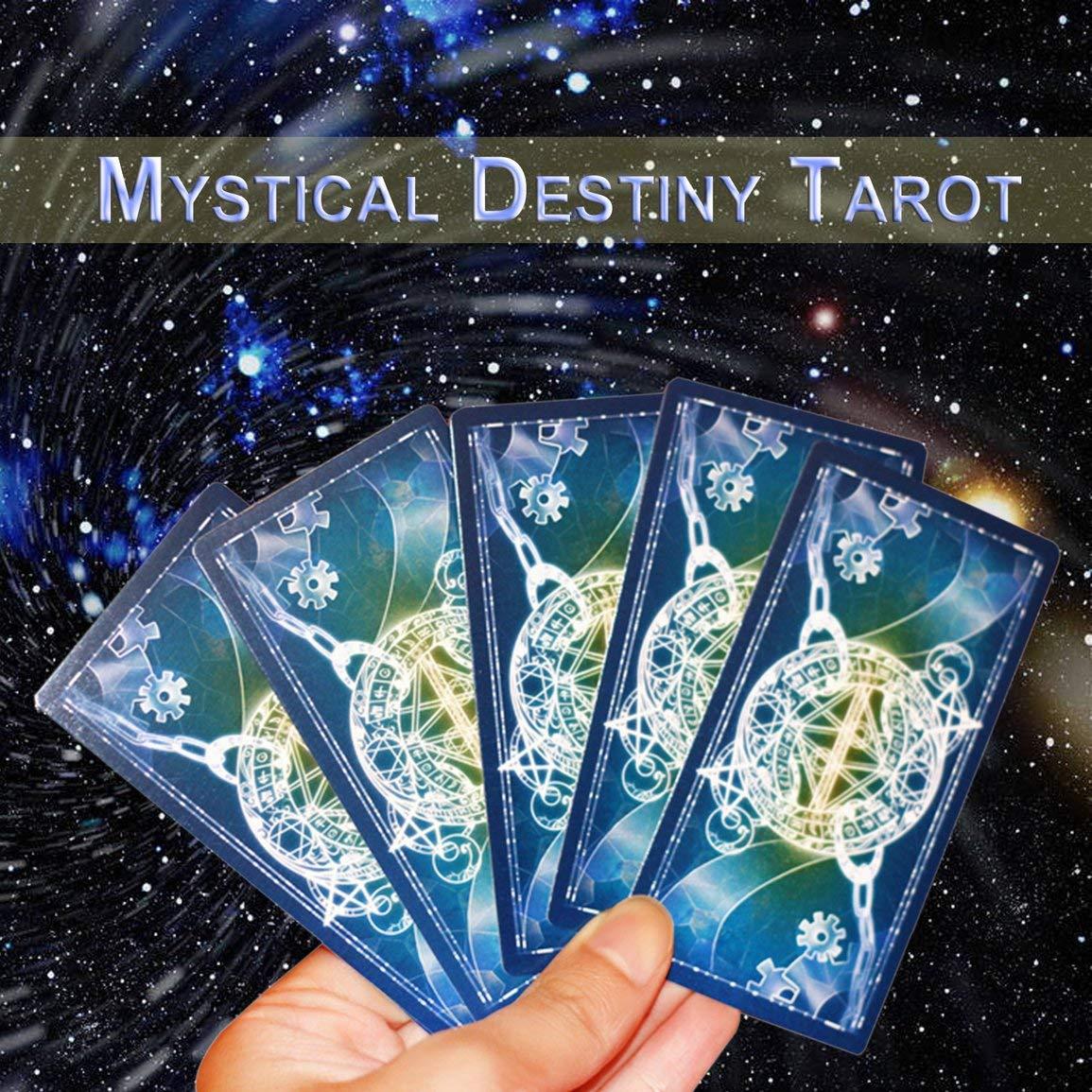 Fantasyworld Disegno Divertente Portatile Tarocchi Gioco di Famiglia di Amici Spettacolo Leggi Mythic Fate Divinazione Tabella Giochi Carte