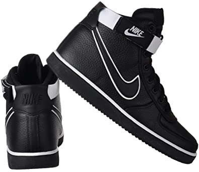 75144a6dc84ea0 Nike Vandal High Supreme LTR, Sneakers Basses Homme, Noir Black/White 001,