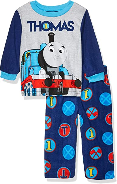 Thomas the Train and Friends Infant Baby Boys Short Sleeve Cotton Pajama Set