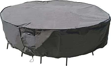 Heavy Duty Large Patio Set Cover Prolongs the Life of Patio sets Great Value!