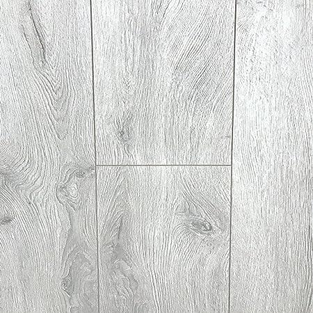 Silver Grey Laminate Flooring Oak Toscana 8mm Ac4 213m