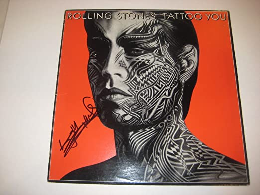 Keith Richards Rolling Stones Signed Tattoo You Album With Psa Dna