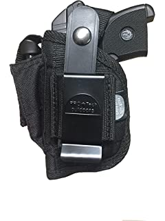 Gun Holster With Extra Magazine Pouch For Taurus PT-22,PT-25