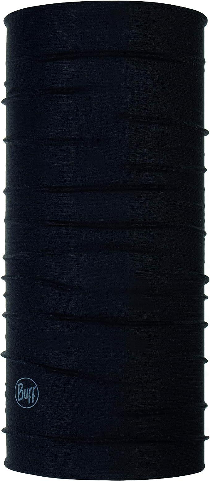 Buff Erwachsenen Multifunktionstuch Solid blau