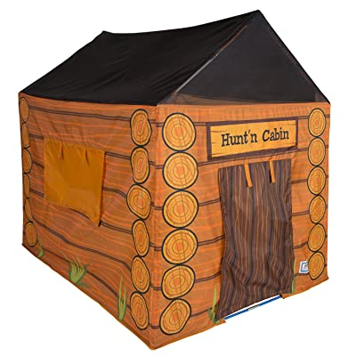 "Pacific Play Tents 61804 Kids Hunt'n Cabin Tent Playhouse, 48"" x 38"" x 48"": Toys & Games"