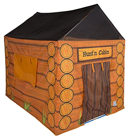 Amazoncom Pacific Play Tents 61804 Kids Huntn Cabin Tent