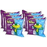 Kandoo Kids Flushable Wipes Refill, Potty Training Cleansing Cloths, Sensitive, 100 Count (Pack of 6)