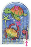 Amscan Fun-Filled Mini Underwater Friends Pocket Pinball Game (Pack Of 12), Multicolor, 2""