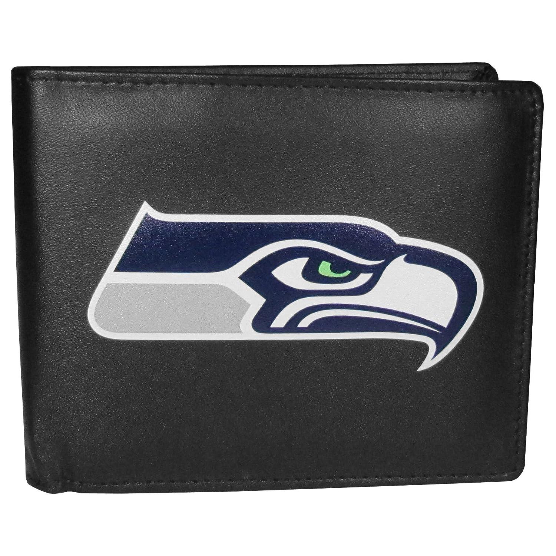 Siskiyou NFL Seattle Seahawks Bi-Fold Wallet Logo, Large, Black Siskiyou Gifts Co Inc. FBIL155