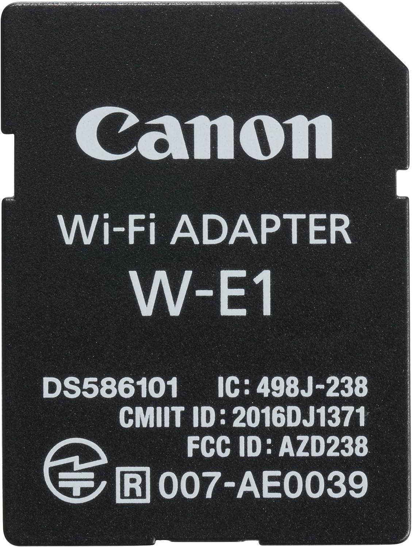Canon W-E1 - Adaptador WiFi para cámaras Canon EOS 7D Mark II, EOS ...