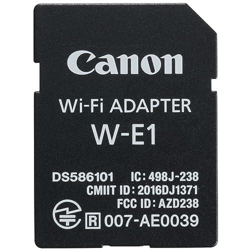 Canon w-e1-adapttador Wi-Fi for Canon EOS Cameras w-e1 , Black