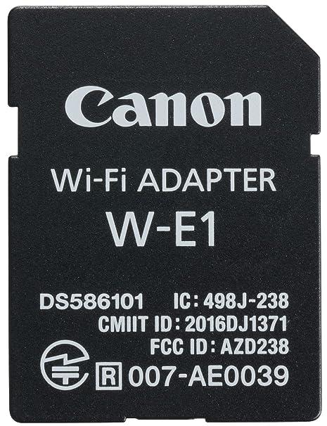 Canon W-E1 - Adaptador WiFi para cámaras Canon EOS 7D Mark II, EOS 5DS, EOS 5DS R