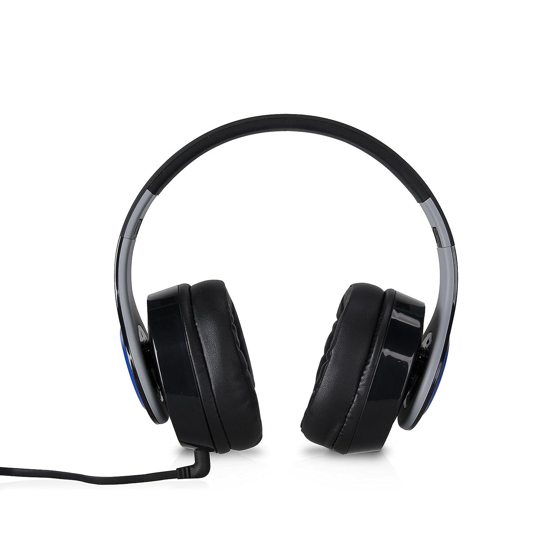 TDK ST560s - Auriculares (Binaurale, Negro, Azul, Diadema, Alámbrico, 3.5 mm (1/8