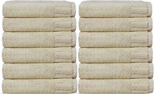 Chakir Linen Piano-Parent WHITE, Bath Towel - Set of 4 Luxury Hotel /& Spa Towel Turkish Cotton Piano