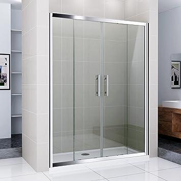 170 cm Mampara de ducha Ducha Puerta Doble Puerta NS5 – 17: Amazon.es: Bricolaje y herramientas
